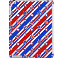 Red White and Blue Stars and Stripes iPad Case/Skin