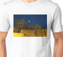 Magical Rome, Italy - Yellow Facades and Moonlight Unisex T-Shirt