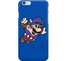 Captain A-Mario iPhone case iPhone Case/Skin