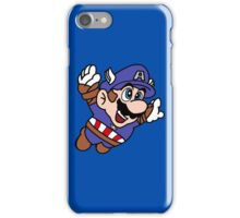 Captain A-Mario iPhone case iPhone Case/Skin