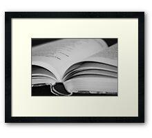 REDREAMING READ Framed Print