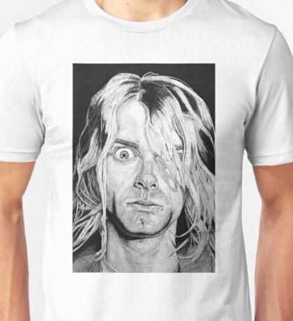 Portrait Kurt Kobain Unisex T-Shirt