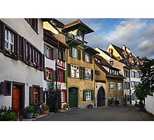A Little Swiss Street Photographic Print