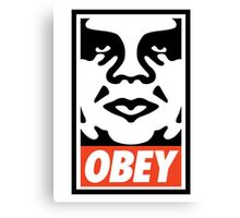 Obey Design, High Quality  Canvas Print