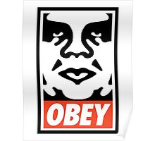 Obey Design, High Quality  Poster