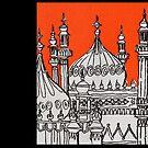Orange Pavilion by Adam Regester