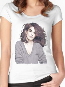 Tina Fey Women's Fitted Scoop T-Shirt