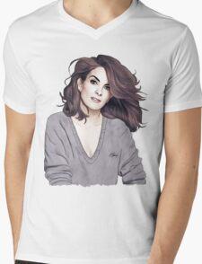 Tina Fey Mens V-Neck T-Shirt