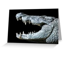Nile Croco-Smile Greeting Card