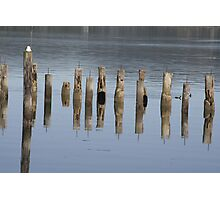 Pier Illusions  Photographic Print
