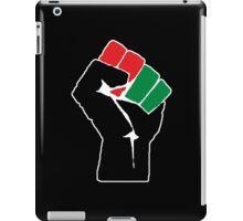Black Power Fist 1 iPad Case/Skin