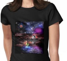 Night Swimming Womens Fitted T-Shirt