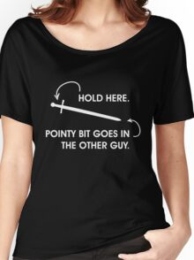 Read Instructions Carefully Women's Relaxed Fit T-Shirt
