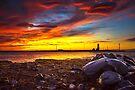 Grotta Island Lighthouse by Svetlana Sewell