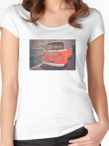 California Dreaming  Women's Fitted Scoop T-Shirt