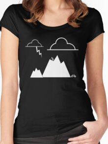 The Adventurer Women's Fitted Scoop T-Shirt