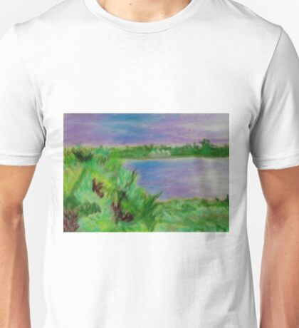 Pastel Painting-Sri Lanka Unisex T-Shirt