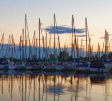 Yachts and Sailboats - Lake Ontario Impressions Sticker