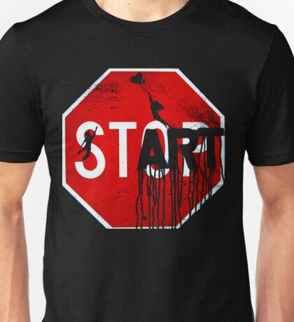 Stop - Start Unisex T-Shirt