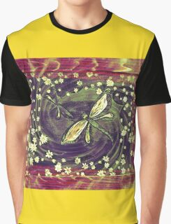 Dragonflies Graphic T-Shirt