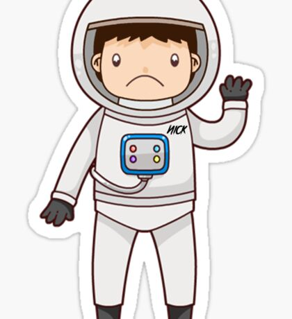 Lonely Astronaut Sticker