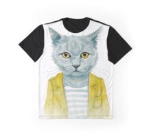 Kitty Graphic T-Shirt