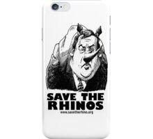 Save the Rinos (Chris Christie) iPhone Case/Skin