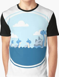 Lapras and kids Graphic T-Shirt