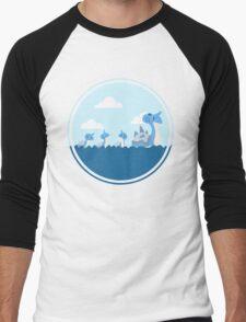 Lapras and kids Men's Baseball ¾ T-Shirt