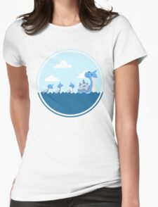 Lapras and kids Womens Fitted T-Shirt