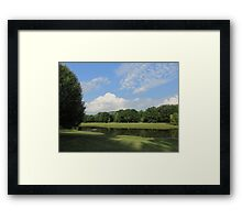 Beauty Of The Land Framed Print
