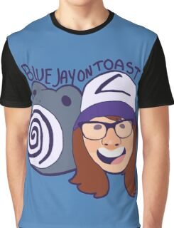 Blue Jay on toast  Graphic T-Shirt