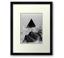 We never had it anyway Framed Print