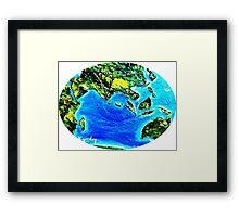 Eastern Hemisphere Framed Print
