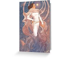 Lady of Light I Greeting Card