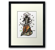 Warframe - Oberon Feyarch Framed Print