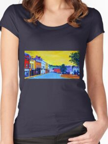 Donegal Town, Ireland Women's Fitted Scoop T-Shirt