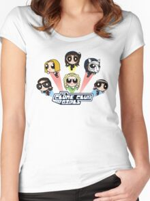The Clone Club Girls Women's Fitted Scoop T-Shirt
