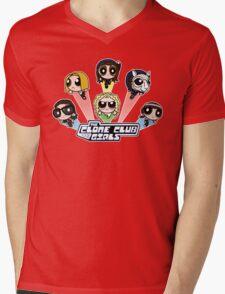 The Clone Club Girls Mens V-Neck T-Shirt