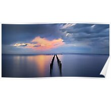 Calm Waters - Corio Bay Poster
