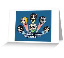 The Clone Club Girls Greeting Card