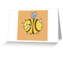 Bumble-Butt Greeting Card