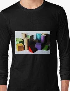All Shapes, Colours and Sizes Long Sleeve T-Shirt
