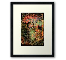 Sci-Fi Abstraction Framed Print