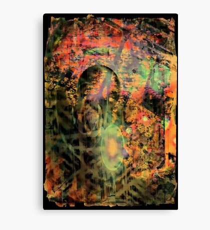 Sci-Fi Abstraction Canvas Print