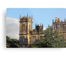 Highclere Castle (Downton Abbey) Metal Print