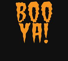 BOO YA! cute funny halloween scary shirt Women's Relaxed Fit T-Shirt