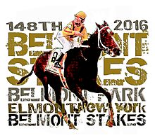148th Belmont Stakes Triple Crown Horse Racing 2016 Photographic Print