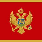 Montenegro Flag Stickers by Mark Podger