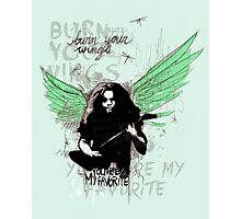 Burn Your Wings Photographic Print